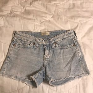 Big Star faded denim shorts size 25
